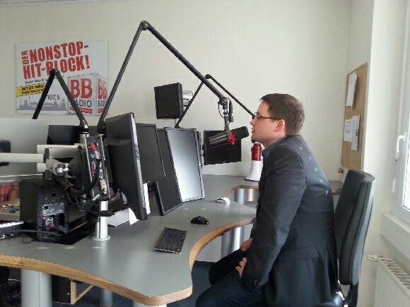 Daniel Marczinek bei BB Radio