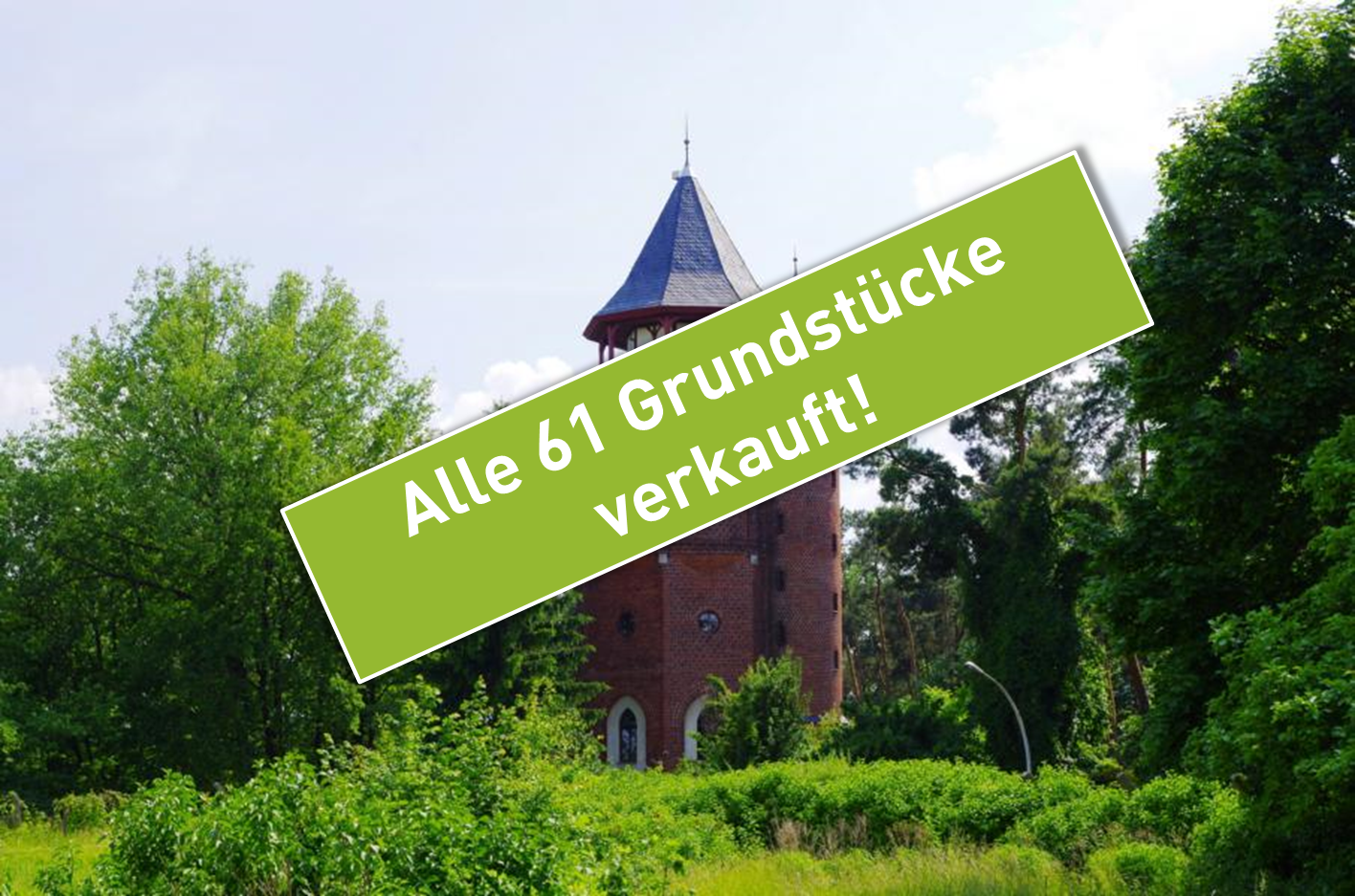 61 Grundstücke am Funkerberg verkauft - Spreeinsel Immobilien